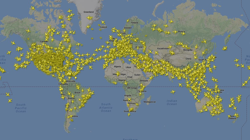 FLY RADAR 24 ✈️ Radar lotów samolotów ✈️  Śledzenie lotu