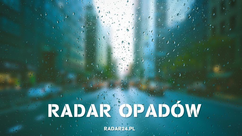 Radar opadów