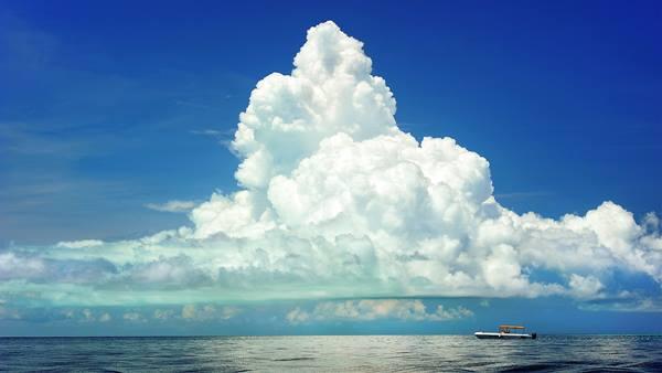 Chmury kłębiaste - Cumulus