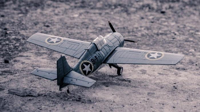 Samolot do sklejania