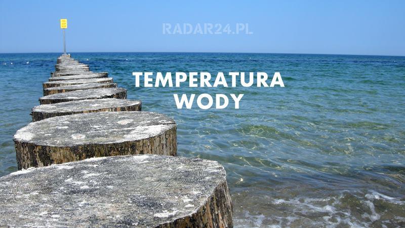 Temperatura wody w Bałtyku