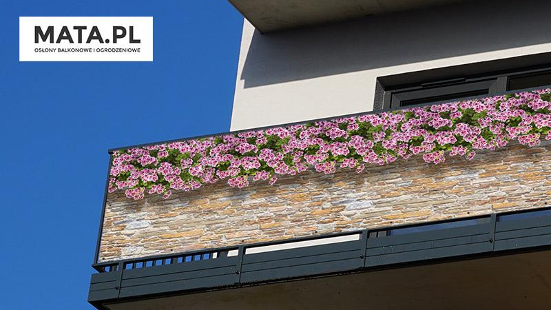 Osłony balkonowe na wymiar